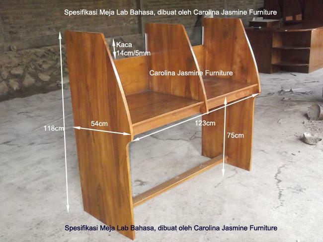 Spesifikasi Meja Lab Bahasa